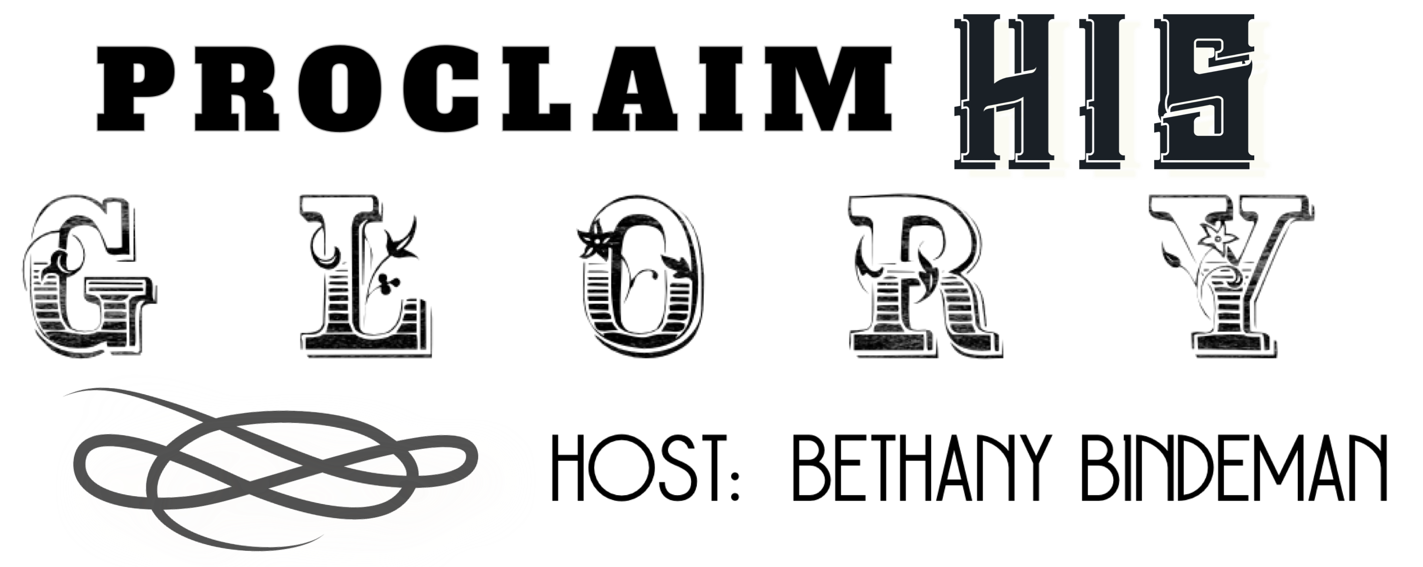 Logo for Proclaim His Glory